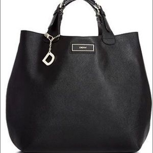 DKNY Saffiano Large North South Tote